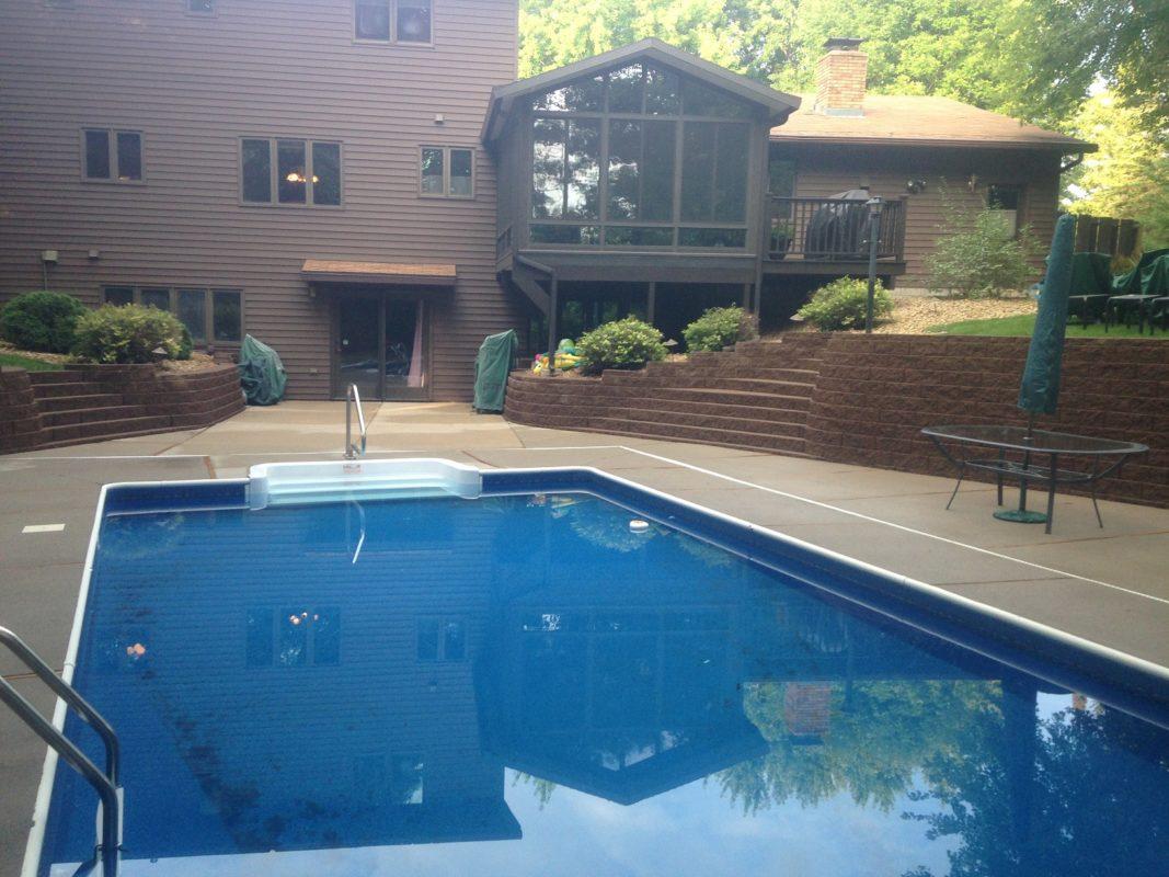 Swimming Pool Pressure Washing : Pool areas perfect clean pressure washing residential